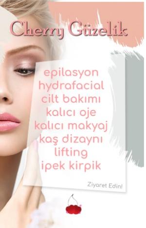 cherry güzellik banner